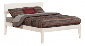 Orlando Full Size Trundle Bed with Flat Panel Foot Board