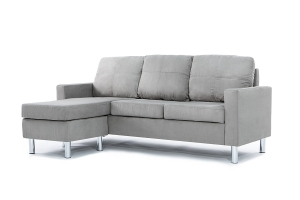 -Modern-Soft-Brush-Microfiber-Sectional-Sofa-Small-Space-Configurable-Couch