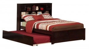 Atlantic Furniture Newport Flat Panel Foot Board Full Size Trundle Bed