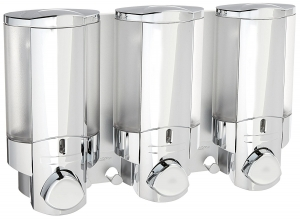 Better Living Products 76345 AVIVA Three Chamber Dispenser