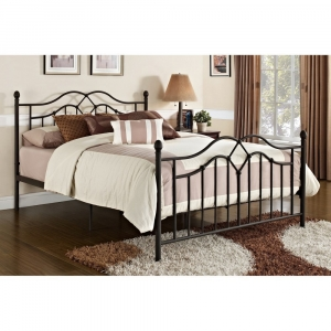 DHP the Tokyo Full Size Metal Daybed with Pop-Out Trundle Bed