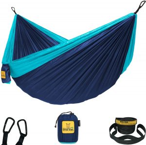 Wise Owl Outfitters Hammock Camping Double & Single with Tree Straps