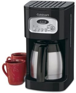 Cuisinart DCC-1150BKP1 Classic Thermal Programmable Coffeemaker, 10-Cup, Black