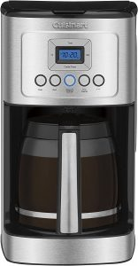 Cuisinart DCC-3200P1 Perfectemp Coffee Maker, 14 Cup Programmable with Glass Carafe, Stainless Steel