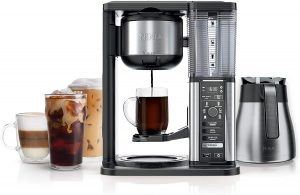 Ninja CM407 Specialty Coffee Maker, with 50 oz. Thermal Carafe, Black and Stainless Steel Finish
