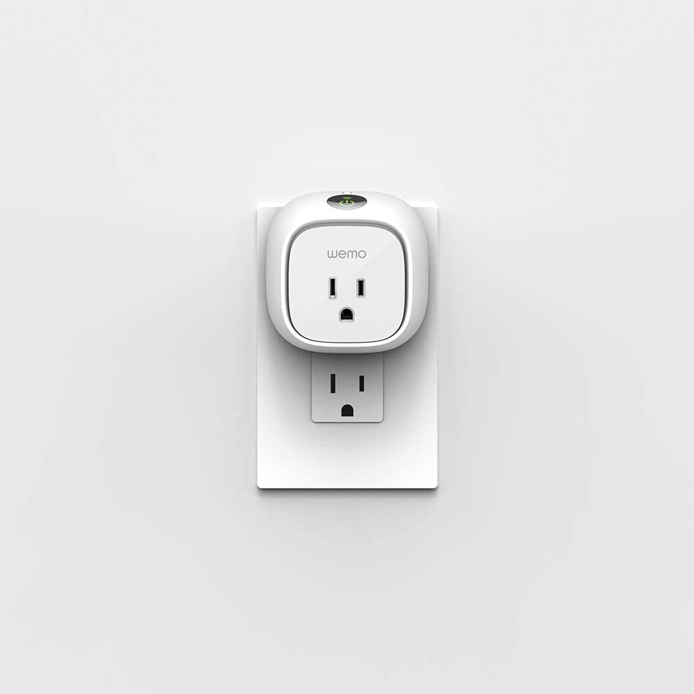 Wemo Insight Smart Plug with Energy Monitoring, WiFi Enabled, Control Your Devices and Manage Energy Costs From Anywhere, Works with Alexa and the Google...